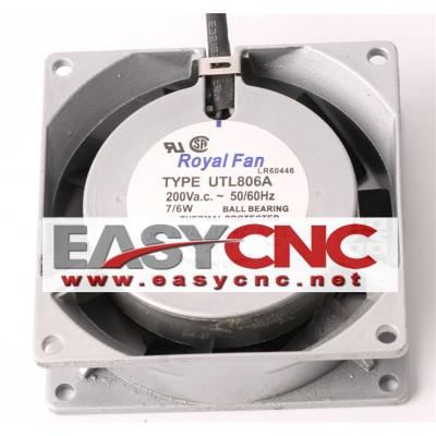 UTL806A Royal fan 220VAC 7/6W 8CM 80*80*25mmnew and original