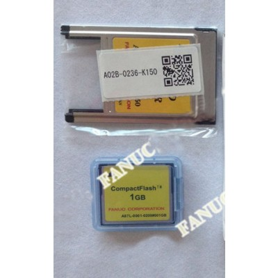 A87L-0001-0200#001GB Fanuc CF card and PC card adapter A02B-0236-K150 new and original
