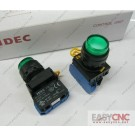 YW1L-M2E10Q0G YW-DE IDEC control unit switch green new and original