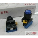 YW1L-M2E10Q0S YW-DE IDEC control unit switch blue new and original